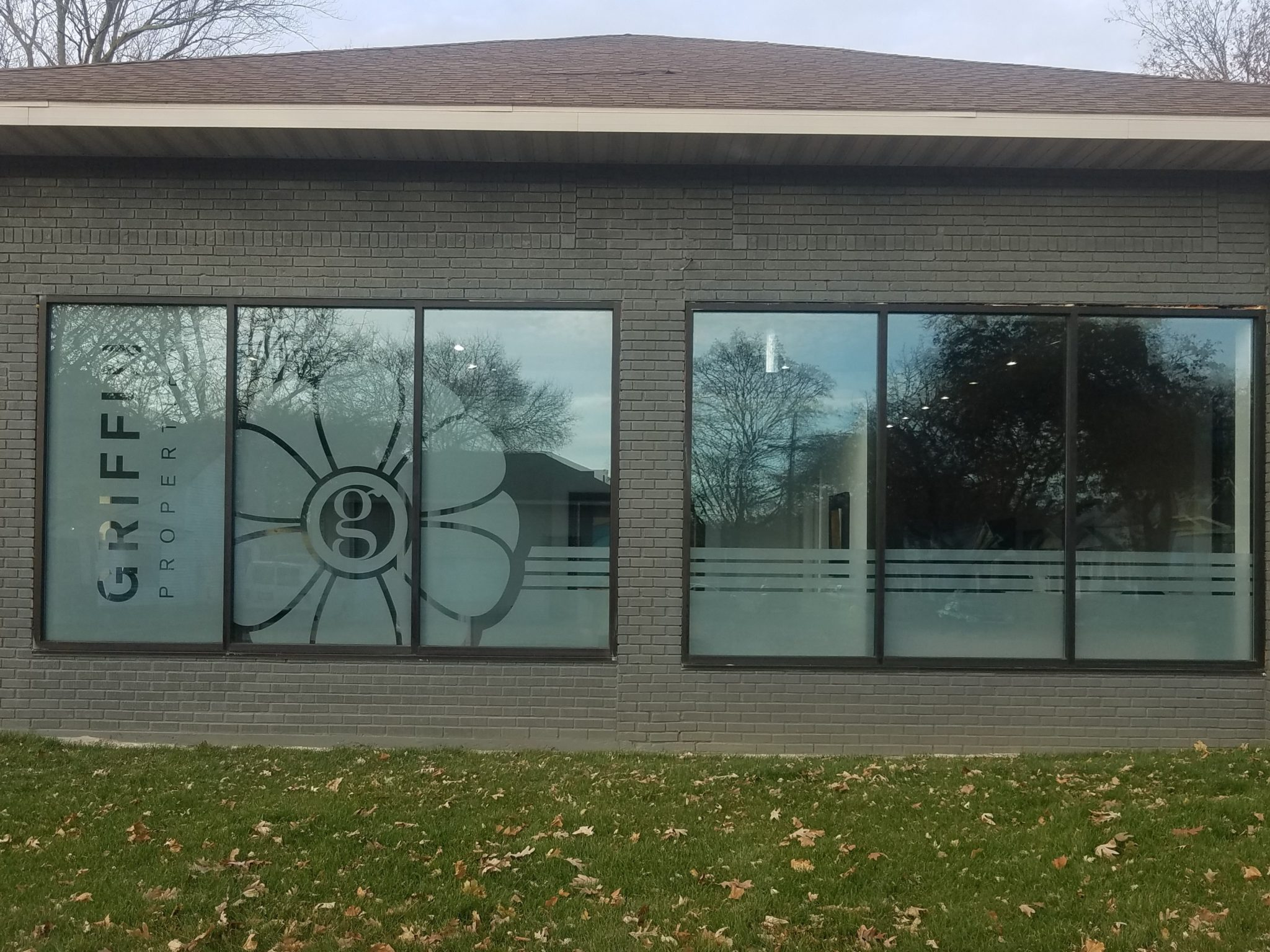 Security Window Film >> Great Curb Appeal with Custom Window Film Sign